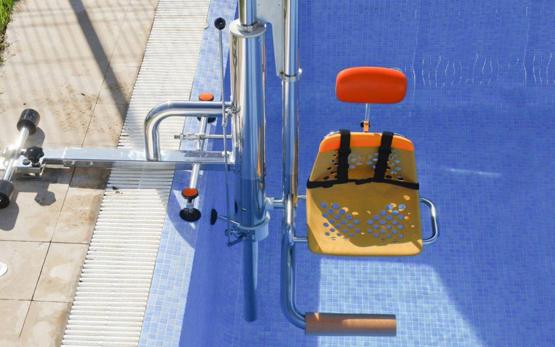 elevador hidraulico para piscina colectiva