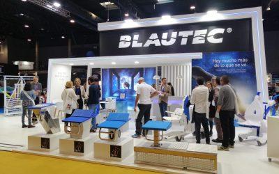 Un año más Blautec en Piscina & Wellness, centro de negocio internacional del sector