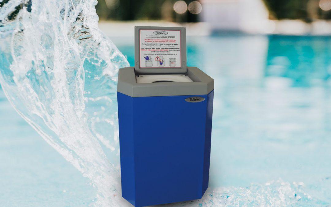 centrifugadora de bañadores