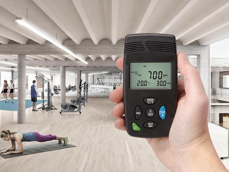 Controla el CO2 de tus instalaciones para mejora su seguridad frente a la Covid-19