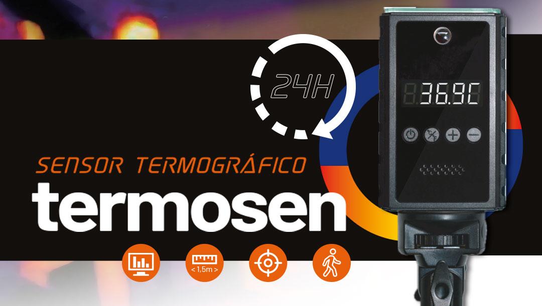 Nuevo producto:  Sensor Termográfico TERMOSEN