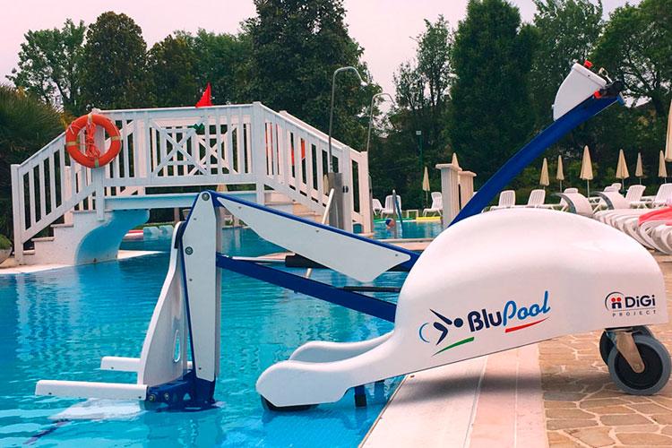 Facilitar acceso a piscinas a personas con movilidad reducida