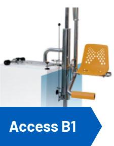 Elevador de piscina hidráulico Access B1